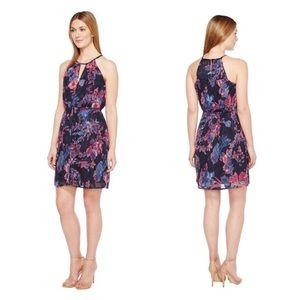 Lucky Brand Printed Halter Dress